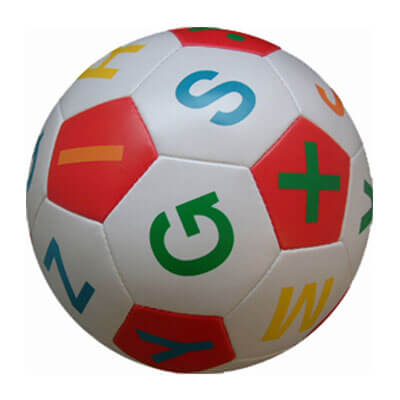 educational soccer ball