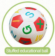 stuffed educational ball